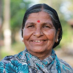Bénéficiaire du programme Réservoir à biogaz en Inde