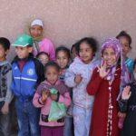 Élèves de l'école primaire à Oulad Merzoug © Fondation GoodPlanet