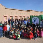L'école reçoit le pavillon vert de la Fondation Mohamed VI © Fondation GoodPlanet