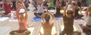 Yoga meditation à la Fondation GoodPlanet Domaine de Longchamp