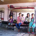 Chambre de l'internat des filles © Estelle Delahaye-Panchout