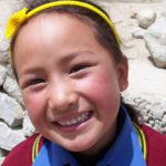 Jeune fille de l'internat ©Fondation GoodPlanet