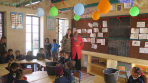 Inauguration maternelle d'Oulad Merzoug ©Fondation GoodPlanet