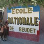 Entrée de l'école à Croix-des-Bouquets © Fondation GoodPlanet