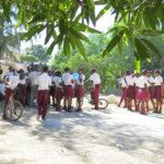 Les élèves en récréation © Fondation GoodPlanet