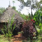 Une maison dans la campagne en Ethiopie.