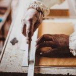fabrication d'un rayon de miel