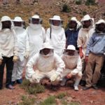 visite terrain avril 2017 coopérative apicole Ait Baha Oubaha ©Igmoullan