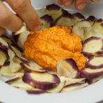 Un plat à base de légumes venant de semences paysannes.
