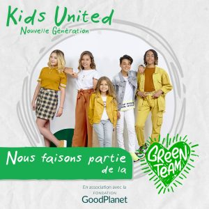 les Kids United font partie de la green team